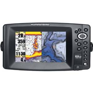 1.Humminbird 409120-1 Fish Finder with GPS