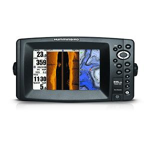 2.Humminbird 409150-1 Color Fish Finder with GPS