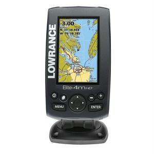 3.Lowrance Elite-4m HD Chartplotter Gold