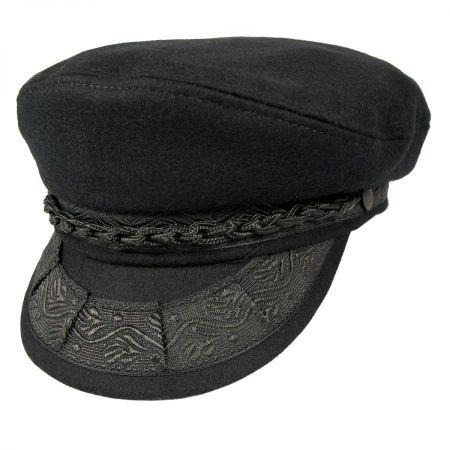 2.Aegean Men's Wool Greek Fisherman's Cap